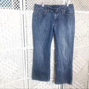P.J. Company R.L. 1967 Kelly wide blue jean 14